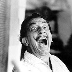 Salvador Dali, a moustachioed icon. Photo by Rex