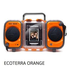 New ECOXGEAR Rugged Waterproof Stereo Boombox Radio Portable Bluetooth wireless Ipod Touch, Gadgets, Ipad Accessories, Waterproof Speaker, Samsung, Stereo Speakers, Iphone Speakers, Internet Radio, Camping World