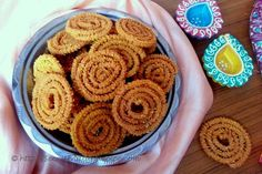 Chakli is a deep fried savoury snacks which is spiral in shape with a spiked surface.  Maharashtrian prepare this chakali with a special flour called as Bhajani which is made by roasting Rice with various lentils like Bengal Gram , Skinned and split black gram ,Split and skinned green gram, coriander and cumin seeds and then grinding it to a powder. This bhajani (flour) is added to spiced boiling water with sesame seeds and some butter. The mixture so obtained is kneaded to a dough, shaped…