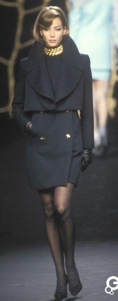 Christy Turlington - Lanvin, Autumn-Winter 1991, Couture