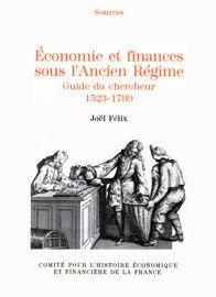 Économie et finances sous l'Ancien Régime