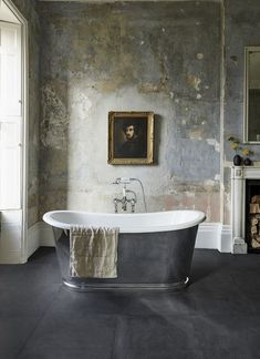 Luxury Bathroom Master Baths With Fireplace is entirely important for your home. Whether you pick the Luxury Master Bathroom Ideas Decor or Luxury Bathroom Master Baths Marble Counters, you will make the best Luxury Bathroom Ideas for your own life. Timeless Bathroom, Beautiful Bathrooms, Modern Bathroom, Master Bathroom, Bathroom Wall, Bathroom Ideas, Zebra Bathroom, 50s Bathroom, Paris Bathroom