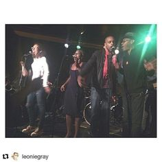 Much love for the love @leoniegray #repost  No deceptions never. #kalmunity #vibe #music #soul #groove #funk #jam #freestyle #singers #talents #tuesday #lesbobards #mtl #montreal #happy #day54 #100happydays #passion #dedication #motivation