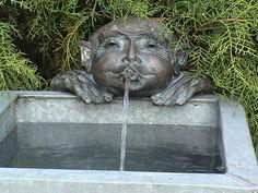 gargoyle / fairweather sculpture / green home