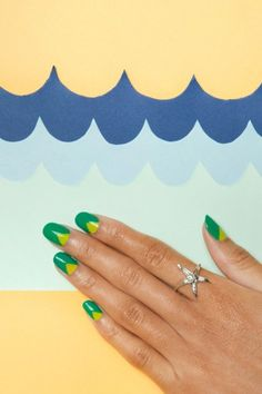 The hottest nail art we're obsessing for summer! Photos by Amelia Alpaugh
