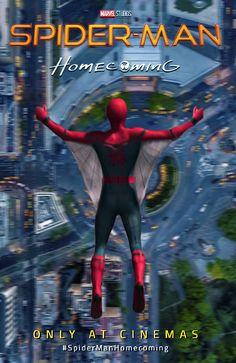 Resultado de imagen para spiderman homecoming poster