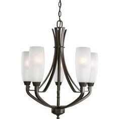 Progress Lighting - Wisten Collection Antique Bronze 5-light Chandelier - 785247161188 - Home Depot Canada