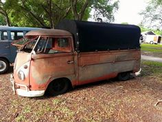 love the patina canvas truck volkswagen vw bus #vwbus pinned by www.wfpblogs.com