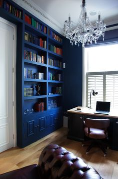 Traditional Home Office by Paul Craig Photography