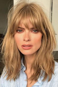 Fullest Bangs | The New Shag has us reeling with options. There's a new haircut on the block—and it turns out it's not new at all. While the classic bob and blunt lob have seen their fair share of the attention recently, it's the new shag that's taking over salons everywhere. Before you lose yourself flashing back to Stevie Nicks, Jane Fonda, David Cassidy, and Mick Jagger with their choppy shag cuts, we want you to instead envision a new, more flattering shag everyone is going to be rocking…