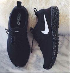 NIKE Women Men Running Sport Casual Shoes Sneakers BLACK