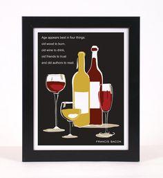 Quote Art - Wine