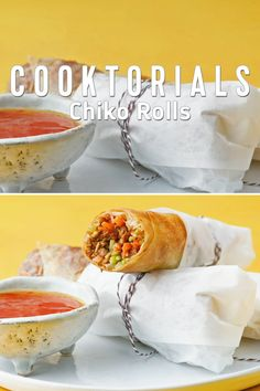 Chiko Rolls are an Australian version of spring rolls or egg rolls. Filled with vegetables and spices, they are then deep fried to golden perfection. Follow our simple recipe to try these delicious rolls at home for yourself! #RoyalCaribbean #Food #Recipe Gourmet Recipes, Cooking Recipes, New Zealand Food, Dosa Recipe, Egg Rolls, Spring Rolls, Tasty Dishes, Food Videos, Spices