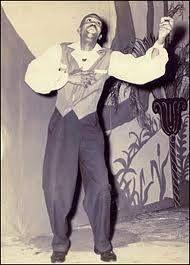 Juan Boria, declamador poesía negroide