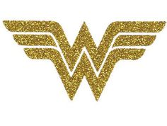 Diy WONDER WOMAN CREST Iron On Vinyl Applique by wingsnthings13