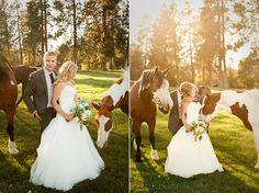 Bend Wedding Photography :: Rock Springs Ranch