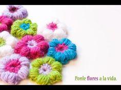 En el vídeo de hoy te enseño a hacer una flor puff de ganchillo. Ésta es una flor preciosa para hacer una manta de crochet para bebé ¿Te gustaría que te ense...