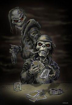 Poker by   Schlunz