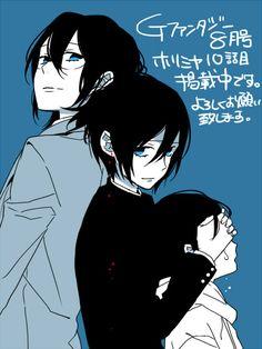 Miyamura Izumi <-- Main reason I pierced my ears twice, and gonna do a third one on each ear! ♥♥