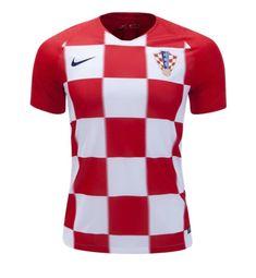 Fan in Shirt Croatia Home Jersey SOCCER 2018-2019 -red white 2386fce48