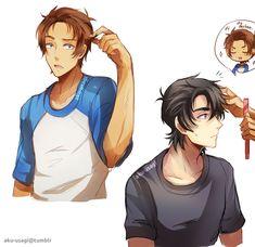 the hair...omg