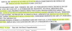 Multas de trânsito: Edital de Florianópolis concede prazos para defesas/recursos e indicação de real condutor infrator 7.12.15 55412 +http://brml.co/1N7T0t0