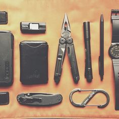 """""""This lazy Sunday calls for a matte black #edc."""" ~ Pith & Torch"""