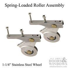Image result for spring loaded roller assembly
