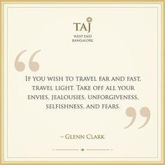 #TravelQuote #travelgram #quote #tajwestend #bangalore...  Instagram travelquote