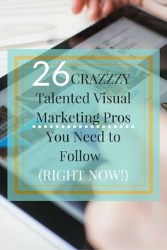 Want to create better social media graphics? Or learn how to design visuals that capture attention and drive traffic? Follow these 26 visual marketing experts to see how you can crush your next visual campaign! http://www.postplanner.com/blog/2 6-talented-visual-marketing-pros/  @rebekahradice | Pinterest tips for business