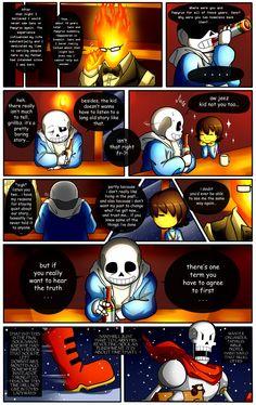 Reminiscence: Undertale Fan Comic Pg. 11 by Smudgeandfrank