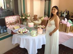 Erika's Vintage Bear themed Baby Shower