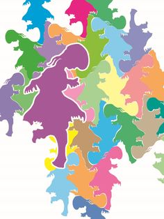 tessellation:#037 petticoat     ...... on DeviantArt Digital Art / Drawings & Paintings /  pattern tiles pictures tessellations Illustrations