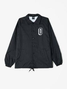 OBEY Varsity Coaches Jacket Black S
