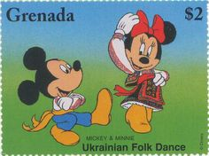 Grenada - Mickey and Minnie Ukrainian Folk Dance