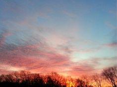 Sunrise in Kansas CIty's Northland.