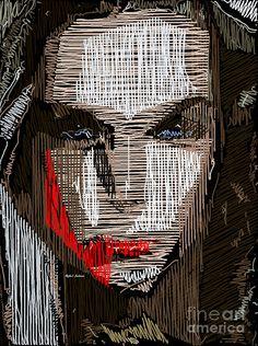 Studio Portrait In Pencil 41 Digital Art by Rafael Salazar
