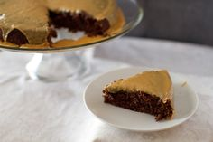 Chocolate Stout Beer Cake with barley malt icing.   HouseofBakes