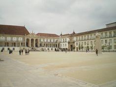 Imagen de la Universidad de Coimbra, espectacular... :)