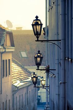 Vilnius, Lithuania (by Flavijus) Lithuania Travel, Photos Voyages, The Beautiful Country, Street Lamp, Eastern Europe, North Europe, Baltic Sea, Travel Around, Places To See