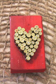 Bullet Heart Art