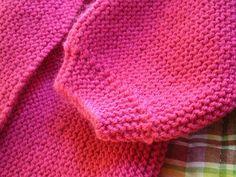 Où trouver un modèle de brassière à tricoter en une seule piece ?