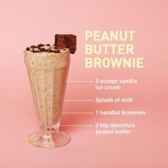 20 Best Milkshake Recipes - How to Make a Homemade Milkshake Dessert Drinks, Yummy Drinks, Healthy Drinks, Yummy Food, Healthy Recipes, Healthy Eating, Milk Shakes, Cafeteria Retro, Homemade Milkshake
