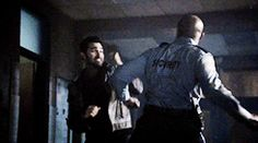 """When Derek saved his friends like it's NBD. 