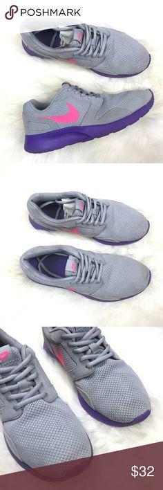 aa2f52e62e18a Nike Kaishi Sneakers Grey Womens 9 pink purple Nike Kaishi Sneakers Grey  Womens 9 pink purple