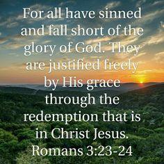 Romans 3:23-24 HCSB