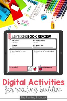 Is your Daily 5 Buddy Reading Center as effective as you'd like for it to be? These digital and printable reading buddies bookmarks are guaranteed to lead to more student engagement. Elementary students can practice making predictions with these bookmarks and graphic organizers. Reading response sheets are also available for additional accountability during literacy centers. A must-have for your reading workshop! Reading Response Activities, Reading Centers, Reading Workshop, Literacy Centers, Partner Reading, Student Reading, Reading Bookmarks, Reading Buddies, Making Predictions