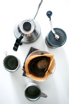 coffee break, handmade ceramics, Chemex, pour-over coffee
