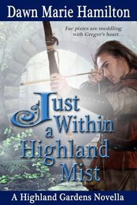 """Read """"Just Within a Highland Mist"""" by Dawn Marie Hamilton available from Rakuten Kobo. Gregor MacLachlan returns to Castle Lachlan, where he fostered as a green lad, ignoring rumors of fae activity. My Books, Books To Read, Time Travel, Mists, The Fosters, Dawn, Romance, Adventure, Reading"""