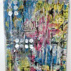Mix Media with DaliART Powder Paints www.daliart.co.uk